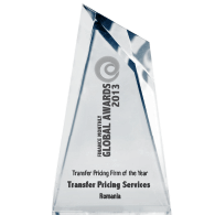 Transfer Pricing Firm of the Year 2013