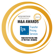 Romania Transfer Pricing Firm of the Year 2013