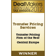 Central Europe Transfer Pricing Firm of the Year 2012